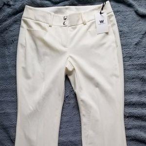 Worth Pants - Ivory dress pants